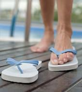 Fußpilz – Gute Pflege beugt vor